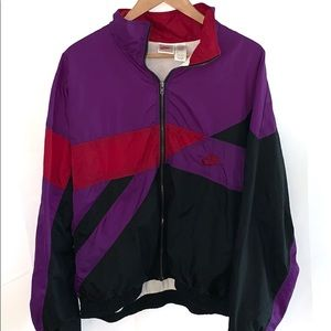 Vintage 90's Nike Women's windbreaker Size XL